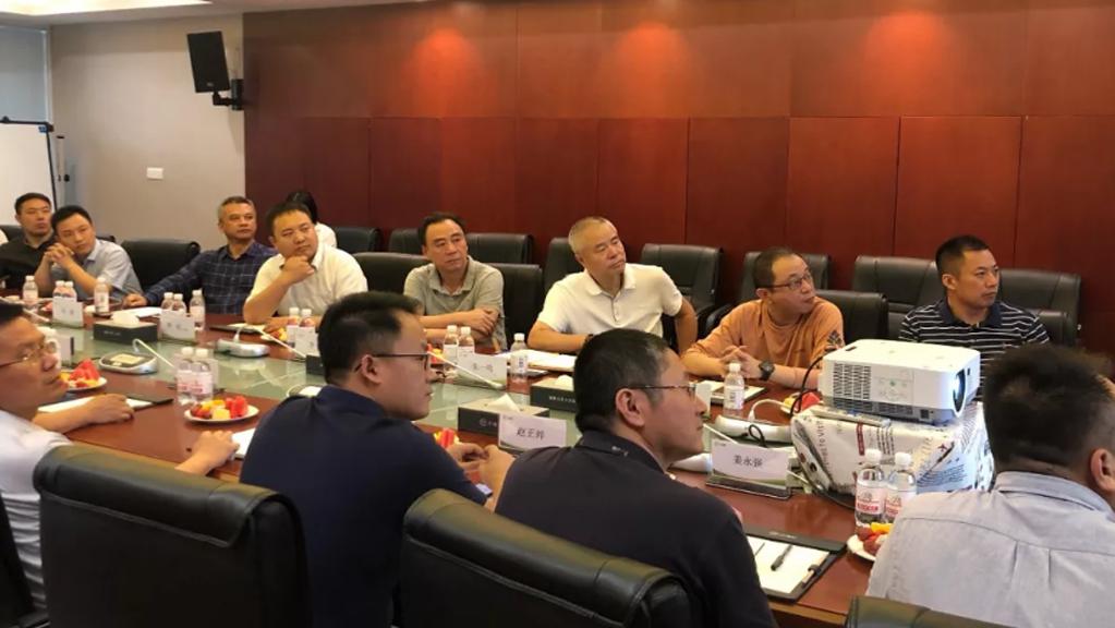 上海房产经济学会、上海地质调查研究院等到平博pinnacle汇调研,探讨保障房领域合作
