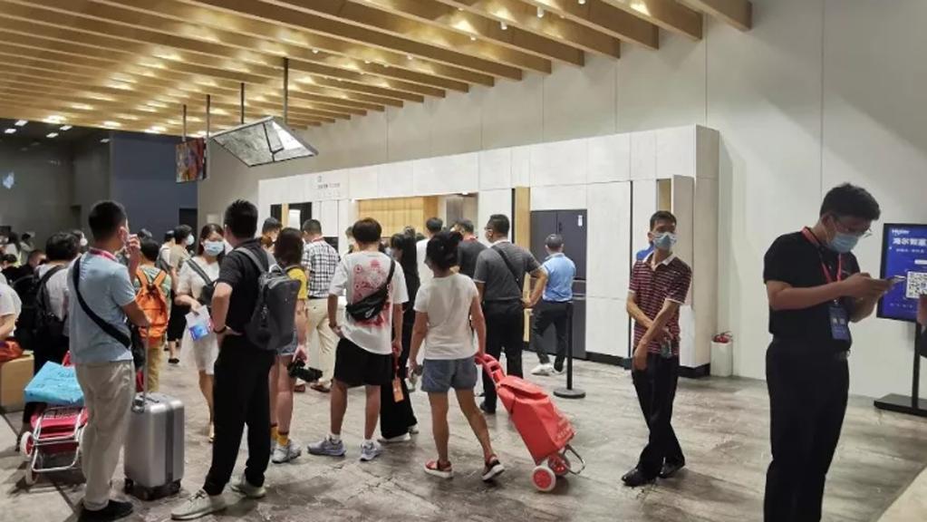 海尔全屋家居引爆广州建博会,超百位意向合作伙伴现场洽谈加盟